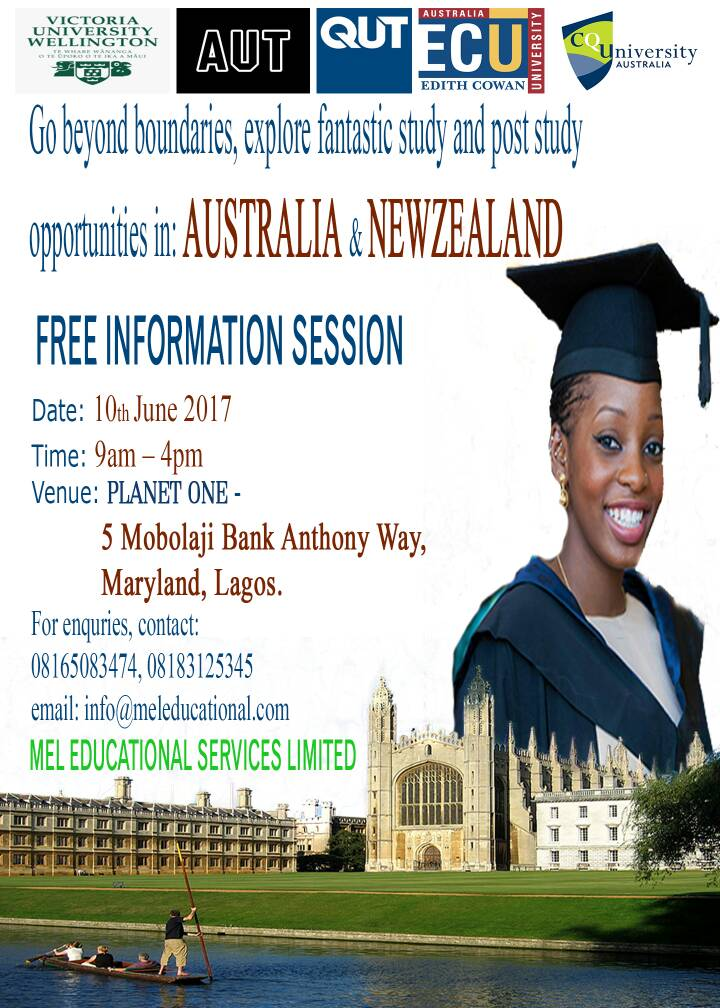 Information Session on the 21st June 2017